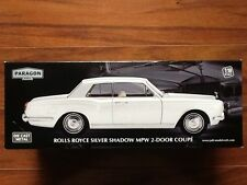 PARAGON 1/18 SILVER ROLLS ROYCE SILVER SHADOW MPW 2-DOOR COUPE # 98201 F/S