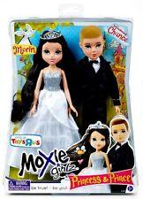 "Moxie Girlz Boyz TRU Princess & Prince Merin & Chance 10"" Doll Set!"