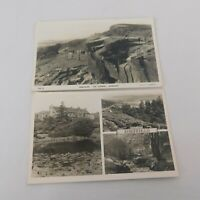 Lot of 2 Vintage Postcards Sheffield England Rivelin Valley Derbyshire Whirlow