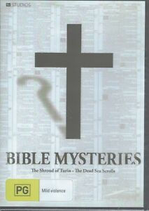 BIBLE MYSTERIES DVD Shroud Of Turin + The Dead Sea Scrolls NEW/SEALED Free Post