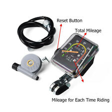 Universal Mechanical Speedometer Motorized Bicycle Bike MTB Stopwatch Odometer
