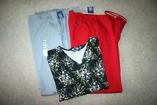 Scrub Lot of 3 Pieces, 2 New Pants (xlg) 1Tops(xl) Cherokee, Scrub Wear