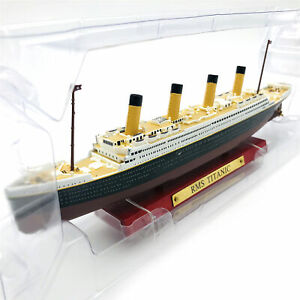 1:1250 ATLAS RMS TITANIC Model Ship Steamer Metal Diecast Collect Toy Gift