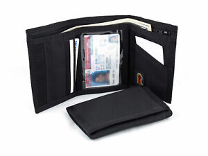 Rainbow of California Trifold Nylon Wallet. Inside ID Hook & Loop-USA made-17PLW