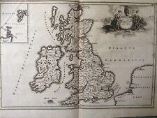 1686 Antique Map; Cellarius - Insularum Britannicarum Facies Antiqua