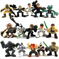 Random Lot 5x Star Wars Galactic Heroes 2.5''  Action Figure Boy Toy Xmas Gifts