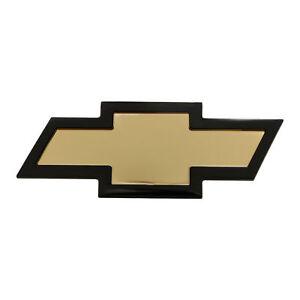 OEM NEW Front Grille Bowtie Emblem Gold w/Black Trim 03-20 Express 22744069