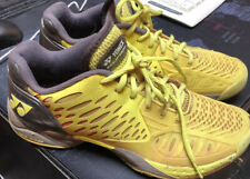 Yonex Clay Tennis Shoes US 8.5 Yellow/red Excellent Condition