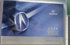 Acura Tsx 2006 Owners Manual Book Others Plus Nice Case complete