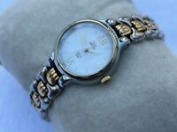 Timex Indiglo Ladies Watch Gold/Silver Tone Analog Wristwatch Water Resistant
