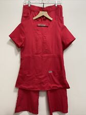 Grey's Anatomy Professional Wear By Barco Watermelon Scrubs 2 Piece Womens Small