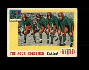 1955 Topps All American Football #68 The Four Horsemen Notre Dame AG058
