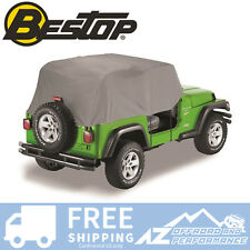 Bestop All Weather Trail Cover 76-91 Jeep CJ7 & Wrangler YJ 81035-09 Charcoal