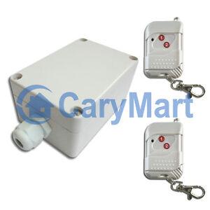 2-Kanal AC 220V Funk Sender / Empfänger Set Funkschalter Elektrogeräte 2000W