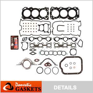 Fit 02-06 Nissan Altima Quest Maxima Infiniti I35 3.5L Full Gasket Set VQ35DE