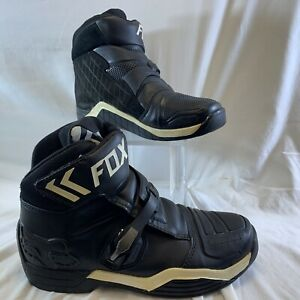 Fox Racing Bomber Boots - Size 13M 48 EU Black GUC