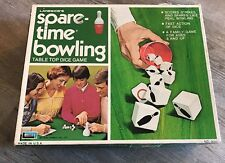 1971 Lakeside SPARE-TIME BOWLING Table Top Dice Game