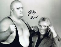 Bobby 'The Brain' Heenan Autographed Signed 8x10 Photo  w/COA w/King Kong Bundy