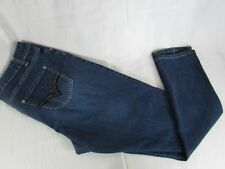"""LEXI Women's Jeans-Size 16- Med Wash-STRETCH-Silver Thread-30"""" Inseam"""