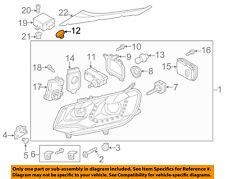 Vw Volkswagen Oem Headlight Head Light Lamp-Headlamp Assembly Cap 8E0941041  00004000