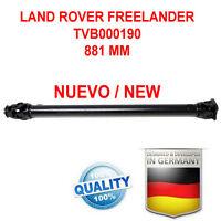Albero Trasmissione Cardanico LAND ROVER FREELANDER I, 97-06 TVB000190 NEW!!