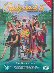 CADDYSHACK 2 II DVD The Shack Is Back Jackie Mason Chevy Chase NEW & SEALED