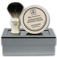 Taylor of Old Bond Street Sandalwood Cream and Badger Shaving Brush Gift Set 206