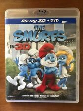 The Smurfs (Blu-ray/DVD, 2011, 2-Disc Set, Canadian 3D)