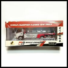 Tiny World Champion Hino 300 Flatbed Tow Truck Buddy Edition NEW ( About 1/64 )