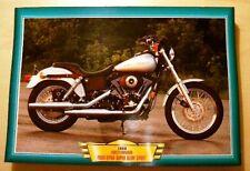 HARLEY-DAVIDSON FXDX DYNA SUPER GLIDE SPORT CLASSIC 1999 MOTORCYCLE BIKE 1990'S