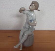 """Figura decorativa """"chicas con muñeca"""" de lladró, españa #6733"""