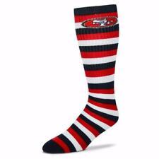 San Francisco 49ers NFL 4 Square Promo Mismatch Socks For Bare Feet