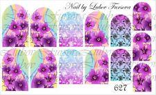 Wasser Wraps Transfer Nagel Sticker Tattoo Aufkleber Sleider von Fursova 627