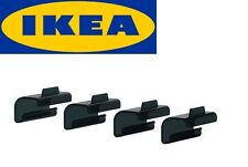 IKEA SAMLA Clip lock Black for box 45/65 litre design Mia Gammelgaard 4 clips