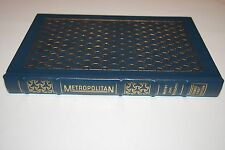 METROPOLITAN Walter Jon Williams SIGNED FIRST EDITION Easton Press 1995