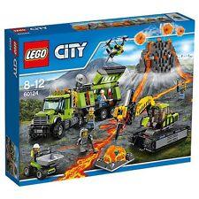 BRAND NEW LEGO CITY VOLCANO EXPLORATION BASE 60124 SEALED