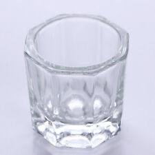 Glass Crystal Bowl Cup Dappen Dish Arcylic Nail Art Liquid Powder Container