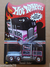 2013 Hot Wheels Mail in Promo Kmart THUNDER ROLLER 3/4 Black Pink
