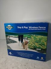 New listing PetSafe (Pif0015001) Stay & play Wireless Fence With Replaceable Battery Collar.