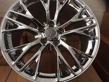 C7 ZO6 Corvette Wheels 18x12 Chrome