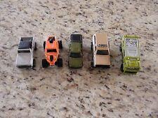 Toy Car Lot of 5 Croc Swamp Lot GUC