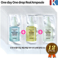 ETUDE HOUSE One Day One Drop Real Ampoule 12pcs Hyaluronic + Propolis + Centell