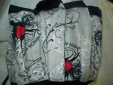 MIDNIGHT TALES SPARKLE PRINT  CLOTH BINGO BAG HANDMADE