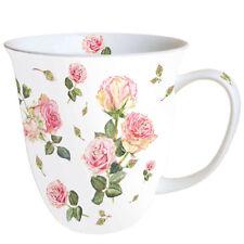 Porzellan Mug Tee Kaffee Becher Bunch of Violets ca.0.4L Ideal Als Geschenk