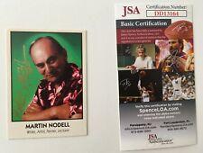 Martin Nodell Signed Autographed 1992 Trading Card JSA Certified Green Lantern