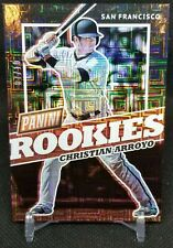 Christian Arroyo 2017 Panini The National Rookies SSP 07/10 San Francisco Giants