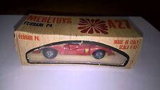 Mebetoys art.A27 No Mattel Ferrari P4 colore rosso scuro con scatola originale.