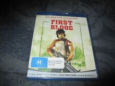 FIRST BLOOD ( Sylvester Stallone)  - BLU RAY