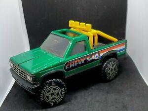 Buddy L Super Brutes Vintage Die-Cast Chevy S-10 Pick-Up Truck Ute 1984