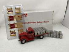 1/24 Danbury Mint 1930 Ford Stake Side Flatbed Budweiser Delivery Truck With Keg